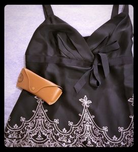 Beautiful black dressy Loft camisole.